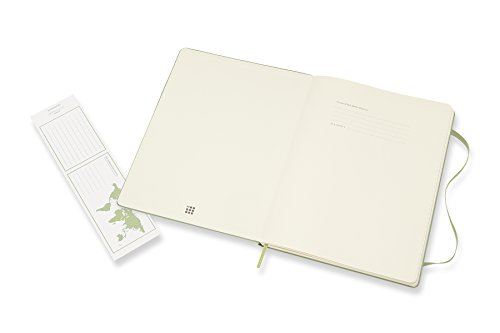 Moleskine Classic Notebook XL Ruled Willow Green Hardcover (8055002855143) Photo #2