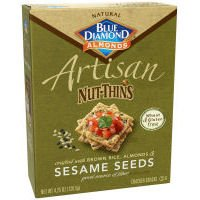 Artisan Nut Thins Sesame Seeds Cracker 4.25 Ounces (Case of 12)