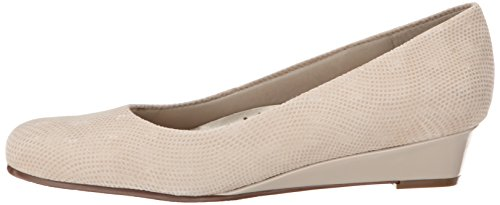 Lauren Suede Trotters Nude Dress Women's Wedge 0wqXBw