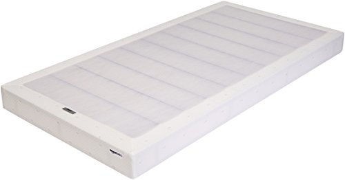 AmazonBasics Mattress Foundation / Smart Box Spring for Twin XL Size Bed, Tool-Free Easy Assembly - 5-Inch, Twin XL