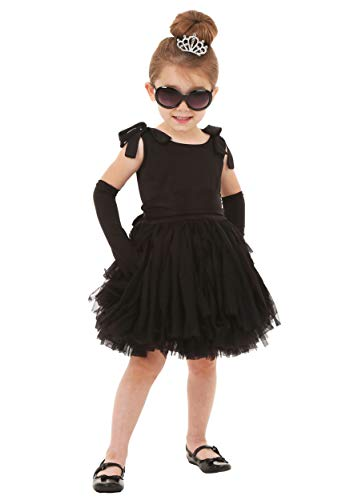 Toddler's Breakfast at Tiffany's Holly Golightly Costume Set 4T Black