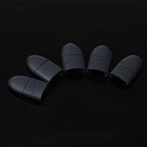 Susenstone 10PCS Silica Gel Nail Soak Off UV Gel Art Polish Remover