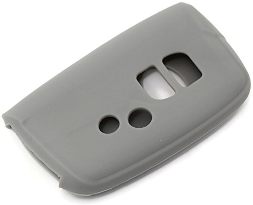 DanteGTS Gray Silicon Key Fob Keyless Entry Remote Skin Cover Protector Fits: 2014 Lexus LS 460