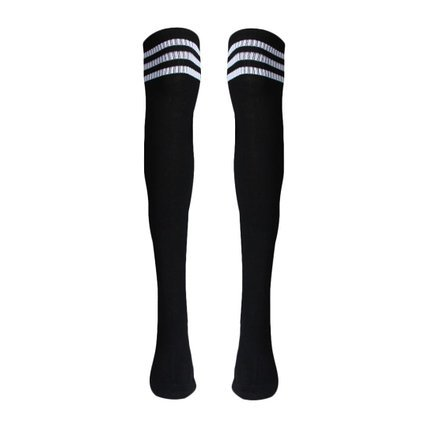 Voberry-Autumn-Retro-Knee-High-Tube-Thigh-High-Socks-Over-Knee-Girls-Football-Socks