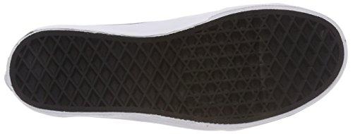 Vans Unisex Kinder Style 23 V Sneaker Schwarz (Glitter Toe)