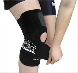 Sportech KneeThing Knee Support , Distinct Name: Black, Size: Md, Primary Color: Black, Gender: Mens/Unisex 20212