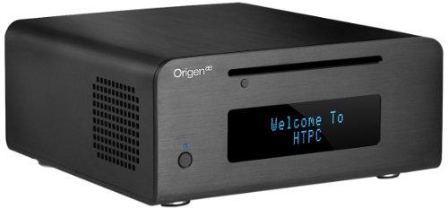 OrigenAE M10 Mini-ITX HTPC PC-Gehäuse VF-Display schwarz