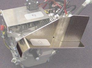 ARC Racing Chain Guard/Heat Shield ()