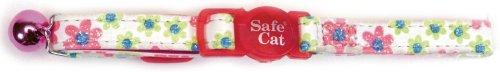 Flower Frenzy Safety Cat Collar - 1