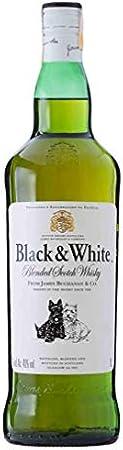Black & White Blended Scotch Whisky 40% - 1000ml