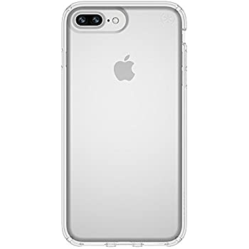 443eb3c661 Speck Products Presidio Clear Case for iPhone 8 Plus (Also fits 7S/7 Plus  and 6S/6 Plus), Clear/Clear