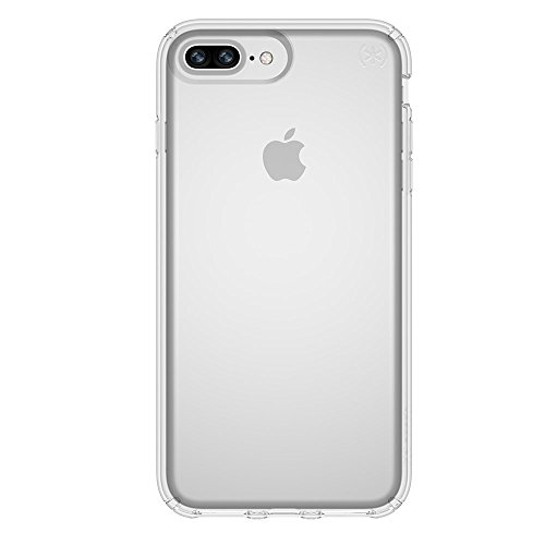 Speck Products Presidio Clear Case for iPhone 8 Plus (Also fits 7S/7 Plus and 6S/6 Plus), Clear/Clear from Speck