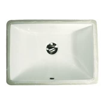 extra small undermount bathroom sinks. nantucket sinks um-16x11-w 16-inch by 11-inch rectangle ceramic extra small undermount bathroom
