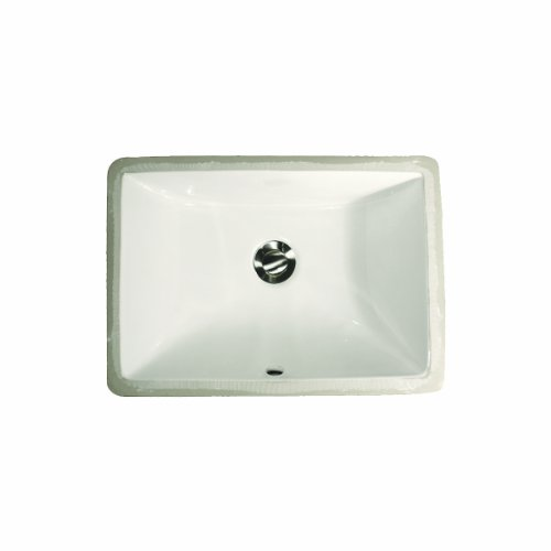 Cheap  Nantucket Sinks UM-16x11-W 16-Inch by 11-Inch Rectangle Ceramic Undermount Vanity, White
