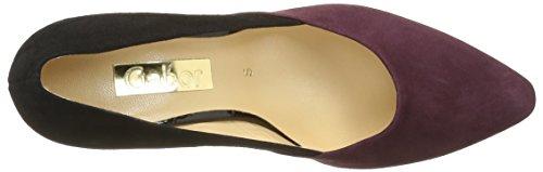Gabor Shoes Basic, Zapatos de Tacón Para Mujer Varios Colores (Schwarz/New Merlot 35)
