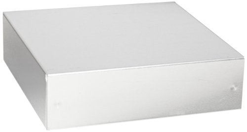 BUD Industries AC-405 Aluminum Chassis, 7'' Length x 7'' Width x 2'' Height, Natural Finish by BUD Industries