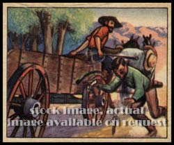 1949 Bowman R701-19 Wild West (Non-Sports) card#138 F-18 whip beats pistol of the Grade Excellent ()