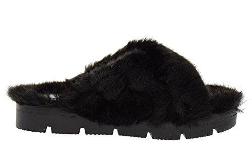 Los Rossana Black Deslizadores Negro Las Zapatos Ojos Mujeres De Ovye nq8O0PREw