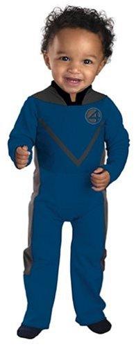 [Fantastic Four Mr. Fantastic Infant Costume: Size 12-18 months] (18 Month Superhero Costumes)