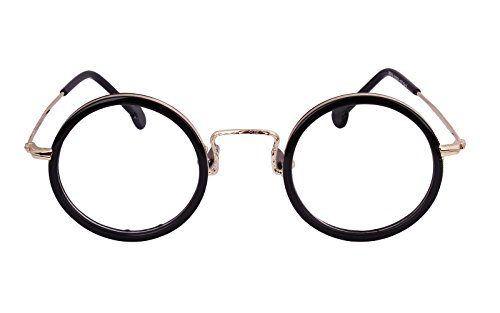Agstum Handmade Retro Round Prescription Optical Eyeglasses Frame Rx 43mm - Potter Glasses Harry Prescription