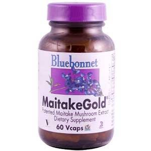 MaitakeGold Mushroom 100mg Bluebonnet 60 (Purple Corn Extract Powder)