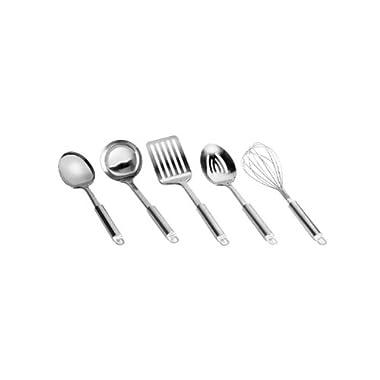 Range Kleen 5-Piece Stainless-Steel Kitchen Utensil Set