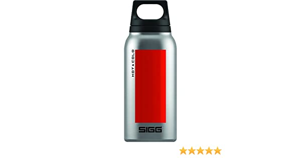 1L Sigg Caliente y Fr/ío sin Bpa Acero Inoxidable Vacuum-Insulated Thermo-Bottle 0.75l L