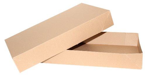 Premier Packaging Exceptional Apparel AMZ-104110Cajas de cartón kraft para prendas, 29x 21,6 x 4, 10 unidades, 19 X 12 X...