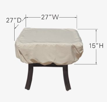 Treasure Garden Square/Round Occasional Table Cover - CP922