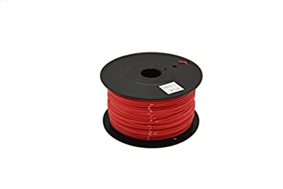3D PLA-1KG1.75-RED PLA 3D Printer Filament, 2.2 LBS (1.0 KG), 1.75mm , Red