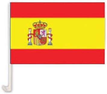 COOLMP – Lote de 3 banderas para coche España 30 x 45 cm: Amazon.es: Juguetes y juegos
