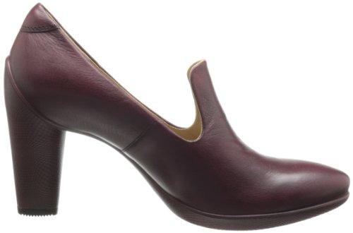 ECCO - Zapatos de vestir para mujer rojo - Bordeaux