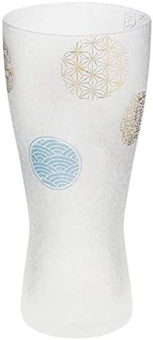Ishizuka Glass Co. Ltd Vaso de cerveza con círculos, tamaño M