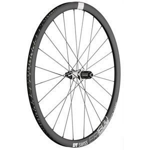 DT Swiss ER1600 db32 Spline Rear Wheel: 700c, 12x142mm, Centerlock Disc