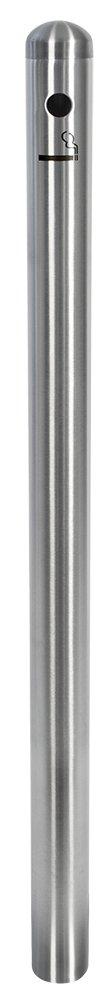 Securit - Cenicero de pie (acero inoxidable, 100 100 inoxidable, cm), diseño de poste a953ff