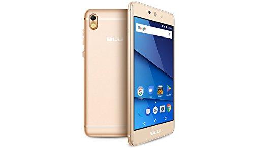 BLU Grand M2 SIM-Free Smartphone - Gold