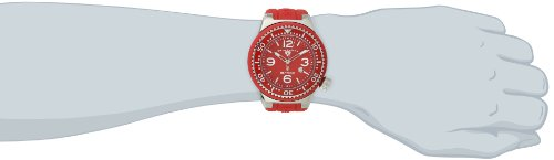 Swiss Legend Men's 21818S-C-OSU Neptune Red Dial Red Silicone Watch