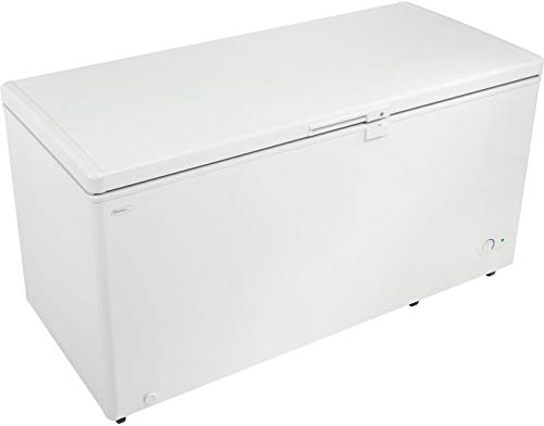 Danby DCF145A2WDB Freestanding Chest Freezer with 14.5 cu. ft. Capacity, White Door, Manual Defrost, Power-On Indicator Light in White