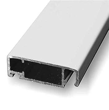 Wei/ß 1PLUS Insektenschutz Alu Spannrahmen System Premium Schiebet/ür 120 x 240 cm in verschiedenen Farben verf/ügbar