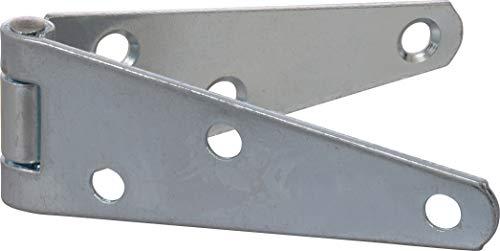 "Hillman Hardware Essentials 851663 Light Strap Hinges Zinc 3"" -2 Pack"