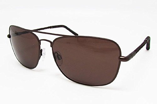 Tod's TO0066 49E Matte Dark Brown / Brown Sunglasses