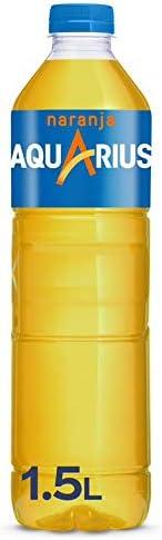 Aquarius Naranja - Bebida funcional con sales minerales, baja en calorías - botella 1.5L