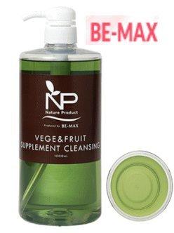 BE-MAX NP VEGE & FRUIT SUPPLEMENT CLEANSING (ビーマックス エヌピー ベジ&フルーツ サプリメントクレンジング)1000mL×2本セット B076ZLC929