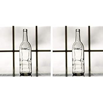 Amazon com: Midwest Homebrewing Supplies 750 ml Clear Glass