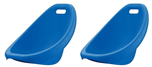 American Plastic Toys Scoop Rocker (Pack of 2) Kids Childrens Chairs (Blue) -