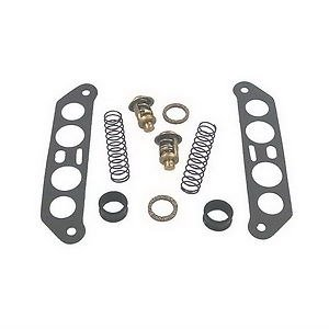 New Johnson/Evinrude Thermostat Kit for (65-140HP) Outboards (Evinrude Outboard Jet)