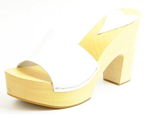 Damare Mujer sandalias D100-Blanco Blanco
