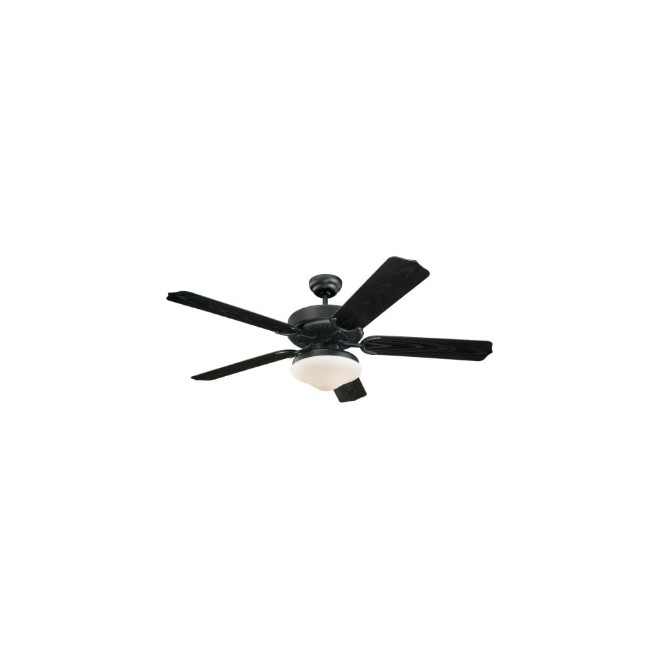 Monte Carlo 5WF52BKD L 52 Weatherford Deluxe Outdoor Ceiling Fan