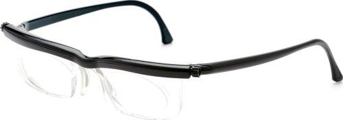 アドレンズ 度数調節老眼鏡 スペアペア 遠近・老眼対応 ブラック EM02-BK