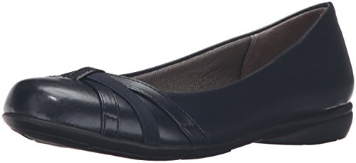 Talla Inky Mujeres De Lifestride Zapato Navy Piso qCRIUw
